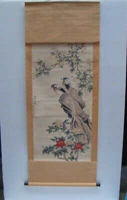Collectible Chinese celebrity Handmade Calligraphy and painting rice paper