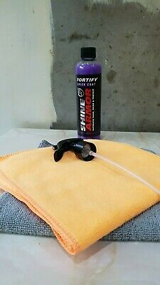 Fortify Quick Coat by Shine Armor with Two Quality Microfibre Cloths 40x40cm