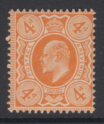 SG 240 4d Pale Orange M25 (2) in Post Office fresh unmounted mint condition.