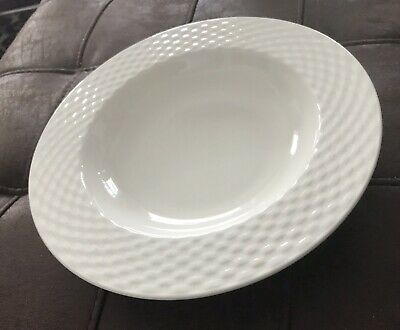 1 Pagnossin Ironstone President White Rimmed Soup Bowl Treviso Italy