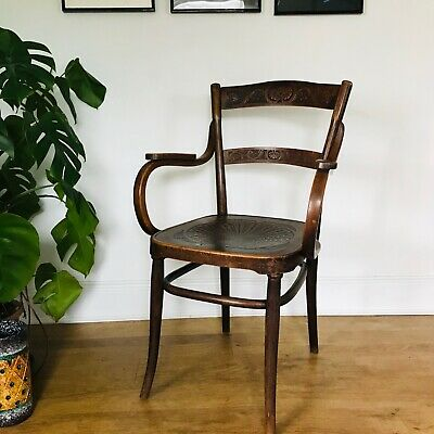 Ultra Rare J & J Kohn Armchair Fauteuil 246, Identical Thonet No. 96 Chair