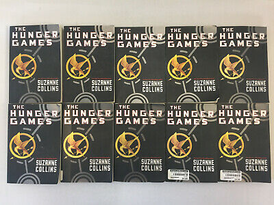 The Hunger Games Book 1 by Suzanne Collins Classroom Set Lot of 10 Paperback