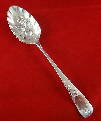 "English Geo III Sterling Berry Serving Spon.8 ½"", Wm Eley & Wm Fearn,London 1807"