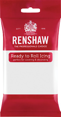 White Renshaw Ready To Roll Icing 500g Packets