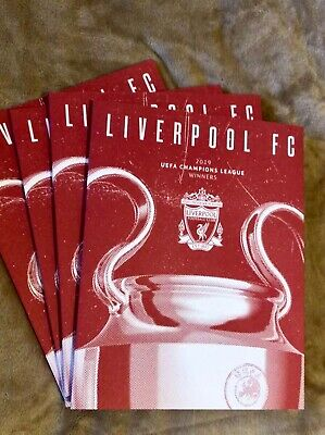 Special UEFA Champions League Final Programme - Liverpool Winners Edition