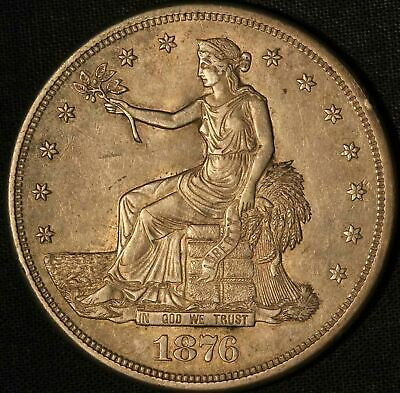1876-S Silver Trade Dollar - San Francisco Mint - Free Shipping USA