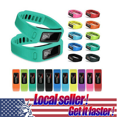 US Replacement Silicone Wrist Band Watch Strap Bracelet For Garmin Vivofit 1/2 0