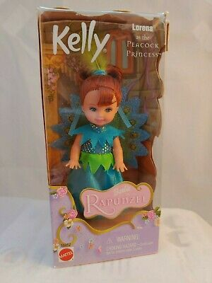 KELLY LORENA AS THE ANGEL PRINCESS BARBIE RAPUNZEL NIP NEW IN PACKAGE 2001