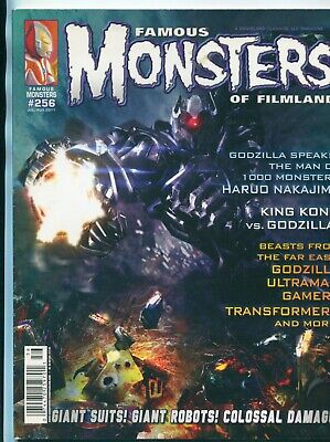 Famous Monsters Of Filmland #256 Jul-Aug 2011 / Godzilla / King Kong / Gamera