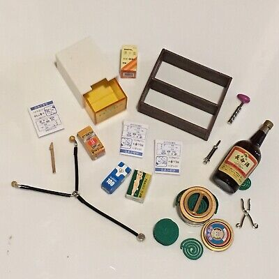 1:6 Scale Rement Medical Medicine Doctor Lot Stethoscope Miniature Dollhouse