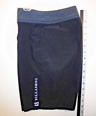 468533e9a344 Boys BILLABONG PLATINUM X stretch Boardshorts Swimsuit size 8 /10 Black