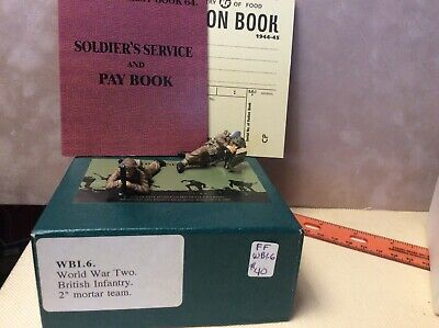Toy Soldier FRONTLINE FIGURES WWII BRITISH INFANTRY