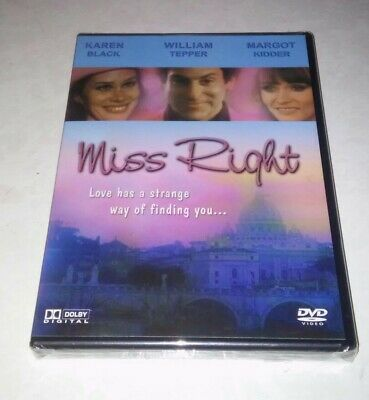 Miss Right (DVD, 2005) Rare OOP Comedy Karen Black Margot Kidder Brand New!