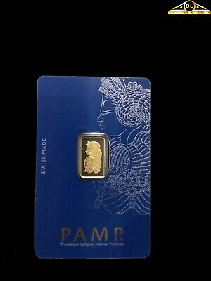 5g PAMP Gold Fortuna Bar With Assay Certificate