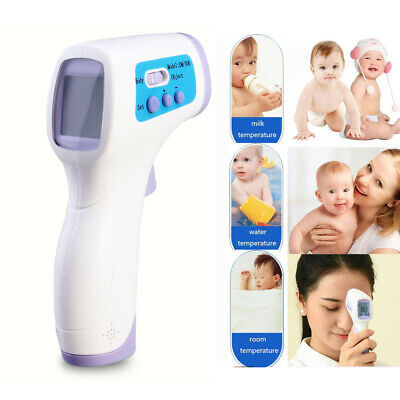 Digital Non Contact Forehead Body Temperature Thermometer Baby Infant Kids Pets