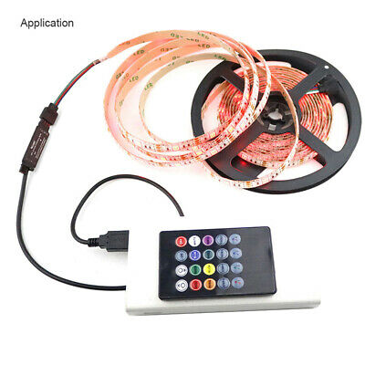 20key LED USB Cable Remote Controller Adapter Dimmer For 5050 LED Strip Lights