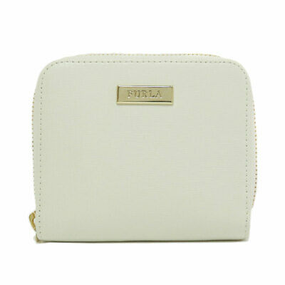 Furla   Bifold Wallet with Coin Pocket Logo type Leather