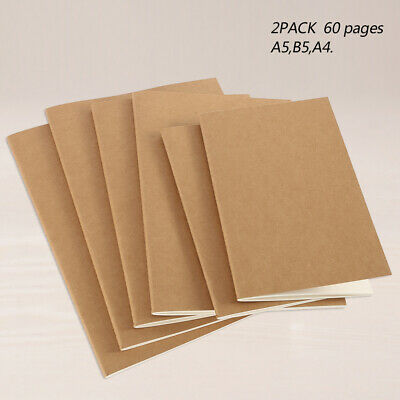 2pcs A5/A4/B5 100gsm Paper Art Artist Sketchbook Sketch Journal Drawing Painting