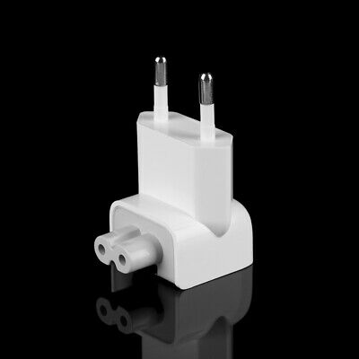 1Pc EU AC Power Wall Plug Duck Head For Apple MacBook Pro Air Adapter Charger