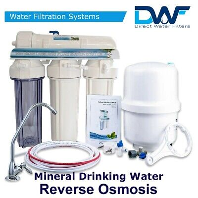 6 Stage 75GPD Reverse Osmosis System - Drinking Water RO Unit