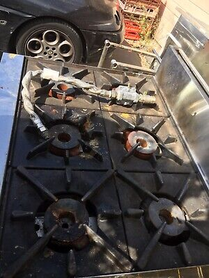 Corba 6 Burners And Oven Natural Gas