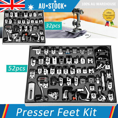 Domestic Sewing Machine Foot Presser Feet Kit For Brother Singer Sewing Machine