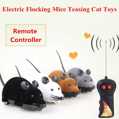 Funny Remote Control RC Wireless Rat Mouse Mice Toy for Cat Dog Pet Novelty Gift