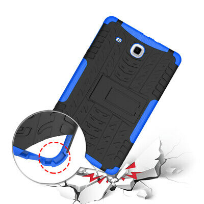 Anti-dust Heavy Duty Stand Case Cover For Samsung Galaxy Tab E 9.6 T560 8.0 T378