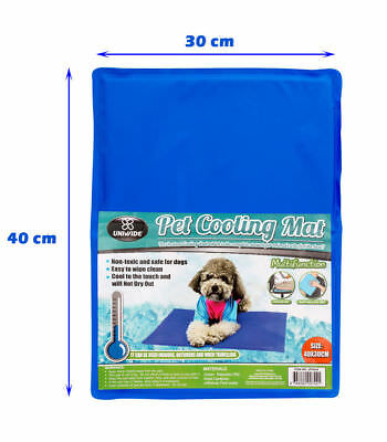 NON TOXIC - EASY TO CLEAN Dog Cooling Mat Gel Cool Pet Bed Mattress Cat Bed Pad