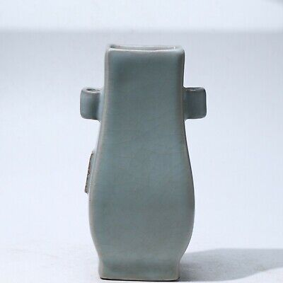Vase,Chinese Exquisite porcelain vase height 10.4cm