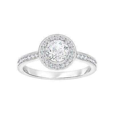 bf12701e8 SWAROVSKI 5409189 ATTRACT Light Round 0.75CT CZ Ring Size6 White ...