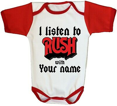 Rush Baby One Piece Personalized Heavy Metal Rock Band Kids Toddler T-Shirt Gift