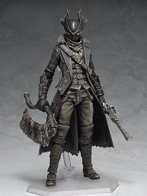 Figma 367 Bloodborne Hunter PVC Action Figure Toy Gift New In Box Collectibles