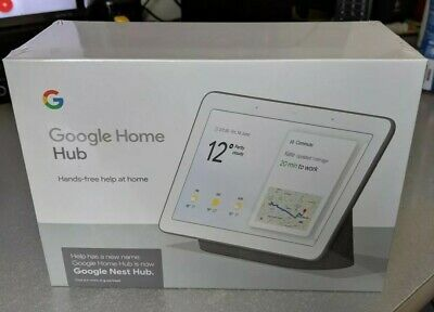 Google Home Hub (Google Nest Hub)- Charcoal - New version in sealed box