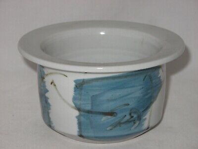 Next Wave Ceramic Bowl Pot By Greg Hanlon Hand Made C. 1980'S