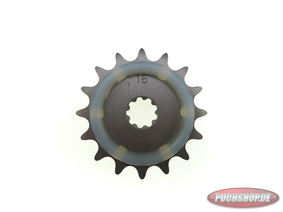 Ritzel 16 Zähne mit Gummiauflage Puch Maxi MV VS Mofa Moped Sprocket 16 tooth