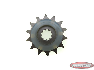 Ritzel 14 Zähne mit Gummiauflage Puch Maxi MV VS Mofa Moped Sprocket 14 tooth