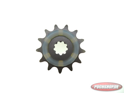 Ritzel 13 Zähne mit Gummiauflage Puch Maxi MV VS Mofa Moped Sprocket 13 tooth