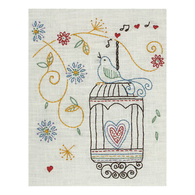 ANCHOR   Embroidery Starter Kit: Birdcage - Beginners   PE707
