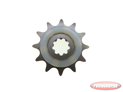 Ritzel 12 Zähne mit Gummiauflage Puch Maxi MV VS Mofa Moped Sprocket 12 tooth