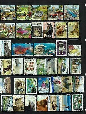 Australia Good Used Stamps 250 All Different