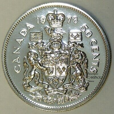 1978 Canada Proof-Like 50 Cents