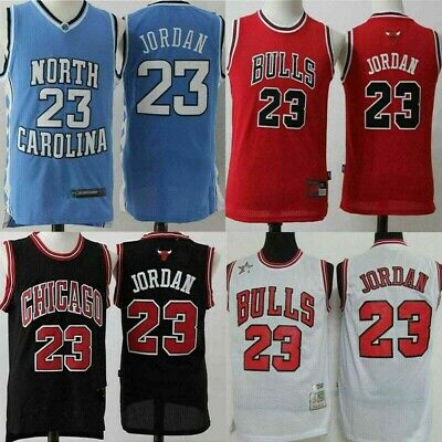 cheaper a6a24 a347a #23 CHICAGO BULLS Michael Jordan swingman Retro Jersey Red Black White S-XXL