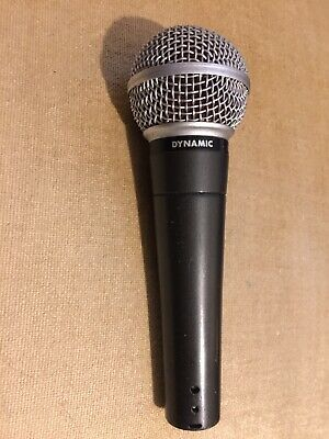Original Vintage Shure SM58 Dynamic Vocal Microphone