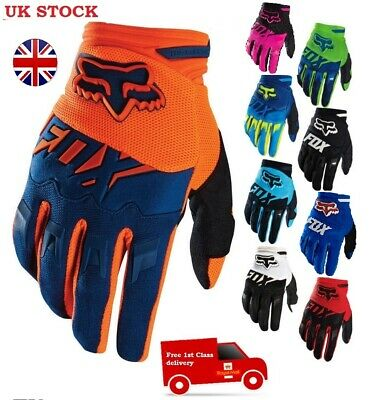 Fox Racing Dirtpaw Race Gloves MX Motocross Dirt Bike Off Road ATV Mens KTM TLD