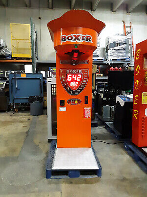 Boxer Glove Boxing Machine Arcade Game with $ Bill & Coin Acceptor