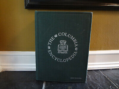 Huge Antique 1941 Mid Century Modern Columbia Encyclopedia Single Volume Book