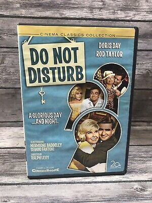 Do Not Disturb (DVD, 2006) Doris Day, Rod Taylor Cinema Classics Collection