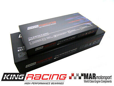 KING RACE MAIN & Rod Bearings FOR Subaru EJ20 / EJ22 / EJ25 0.25mm undersize
