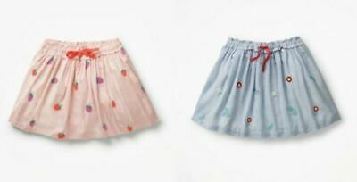 Boden Pretty Embroidered Skirt Girls Ex Mini Boden Age 2-12 Years RRP £26